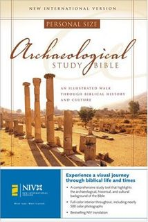 Archaeological Study Bible, Personal Size: An Illustrated Walk Through Biblical History and Culture